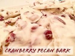 Holiday Recipes - Cranberry Pecan Bark  http://www.twohensandtheirchicks.com/8203holiday-recipes---cranberry-pecan-bark.html