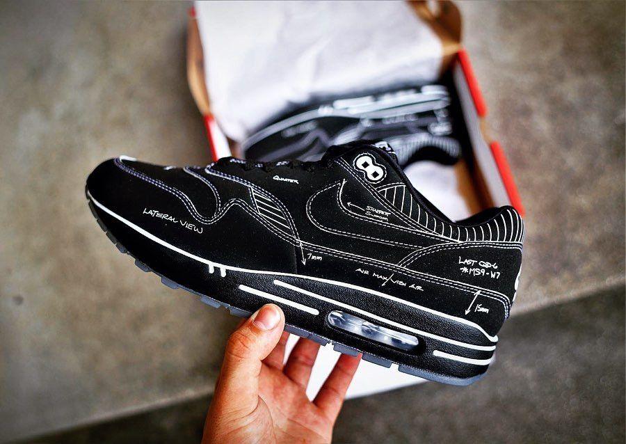 Faut il acheter la Nike Air Max 1 Tinker Schematic Black