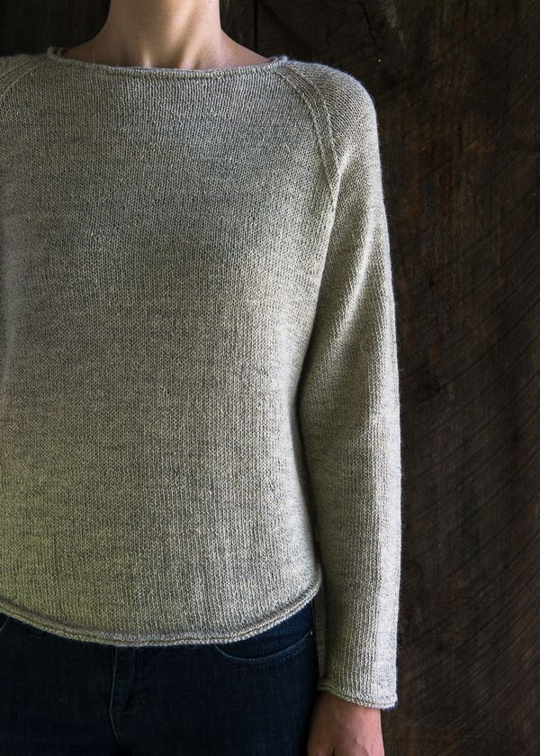 569b912c16 K Lightweight Raglan Pullover BY PURL SOHO must use heavier weight tarn and  make longer also make larger.