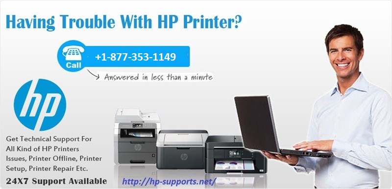 contact hp printer support
