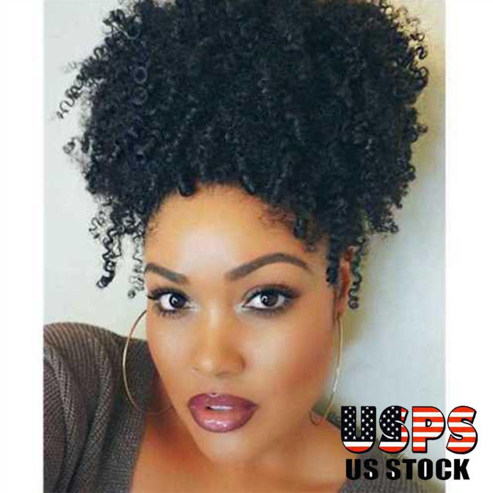 Curly Chignon Accessories Synthetic Hair Drawstring Ponytail Updo Fake Buns Gottta Bun