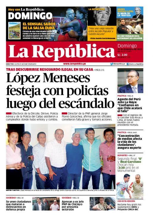 LaRepública Lima - 15-12-13