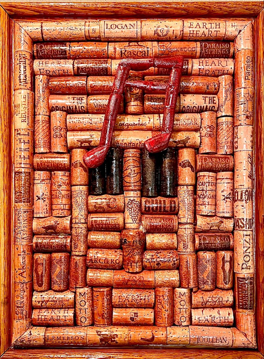 Musical Note In 2020 Wine Cork Art Cork Art Wine Cork