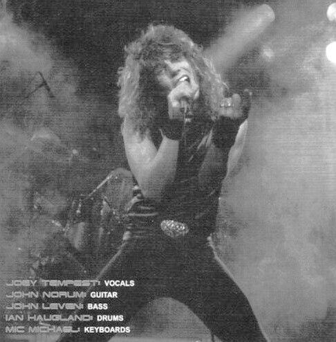 Pin by Rob Saah on EUROPE   Joey tempest. Tempest. Rock music