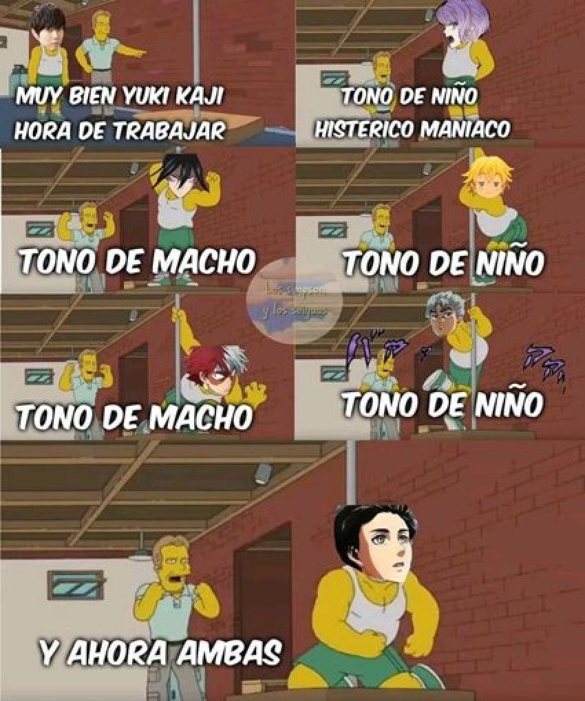 "CÓMICS Y MEMES ""SNK"" Memes, Memes de anime, Humor"
