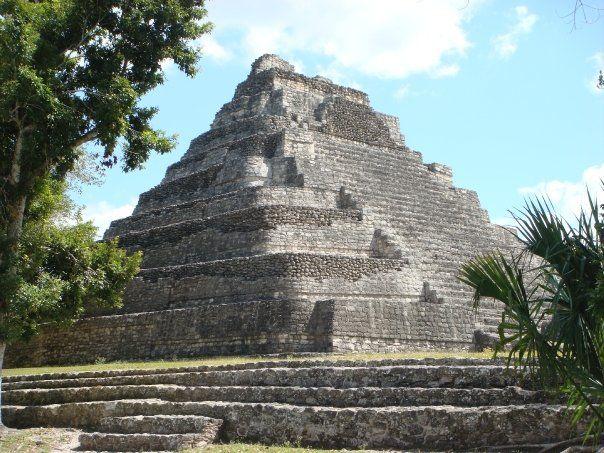 Chacchoben Mayan Ruins Costa Maya Mexico Costa Maya