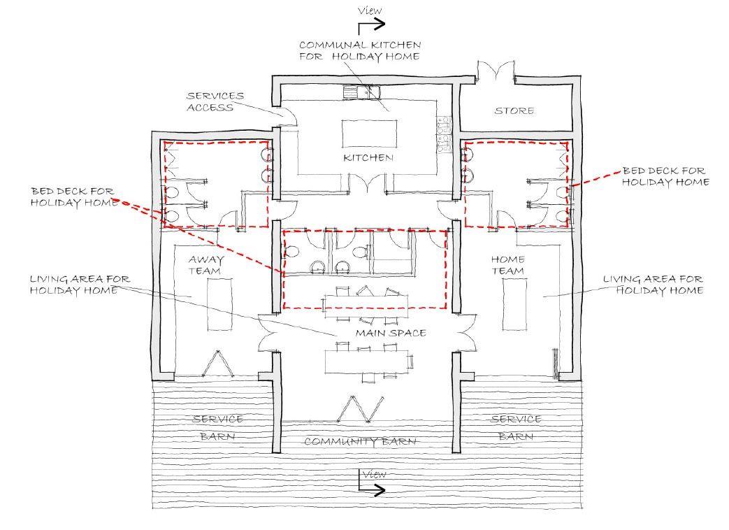 coniston cricket pavilion floor plan