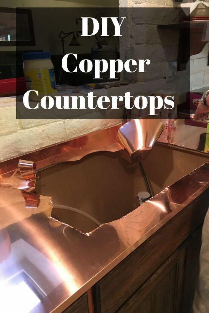 DIY Copper Countertops   Copper countertops, Countertop ...
