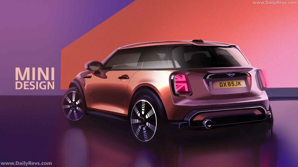 2022 Mini Cooper 3 Door Dailyrevs In 2021 Car Design Car Car Design Sketch