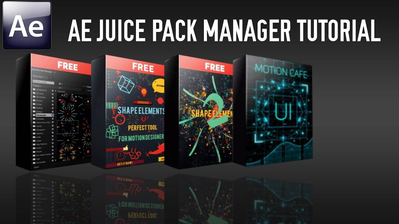 AEJuice Pack Manager Tutorial (Free Version) Music