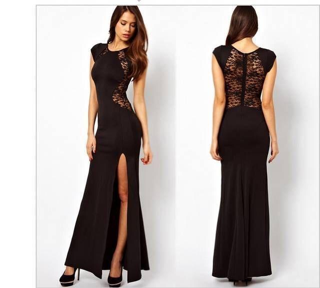 Moda vestidos de noche 2014