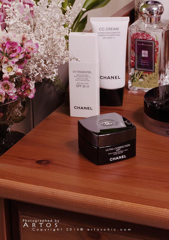 Chanel Ultra Correction Lift Total Eye Lift كريم العينين من شانيل Eye Lift Cc Cream Spf 30