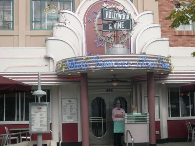 Hollywood An Vine Restaurant Disney