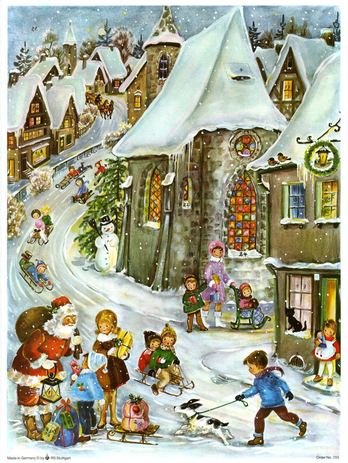 pin von richard sellmer verlag auf adventskalender adventskalender weihnachten nostalgie und