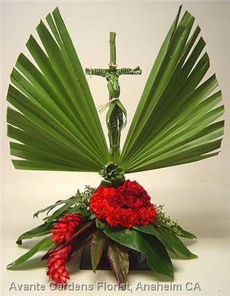 Funeral arrangement ~ Avant Garden Floral