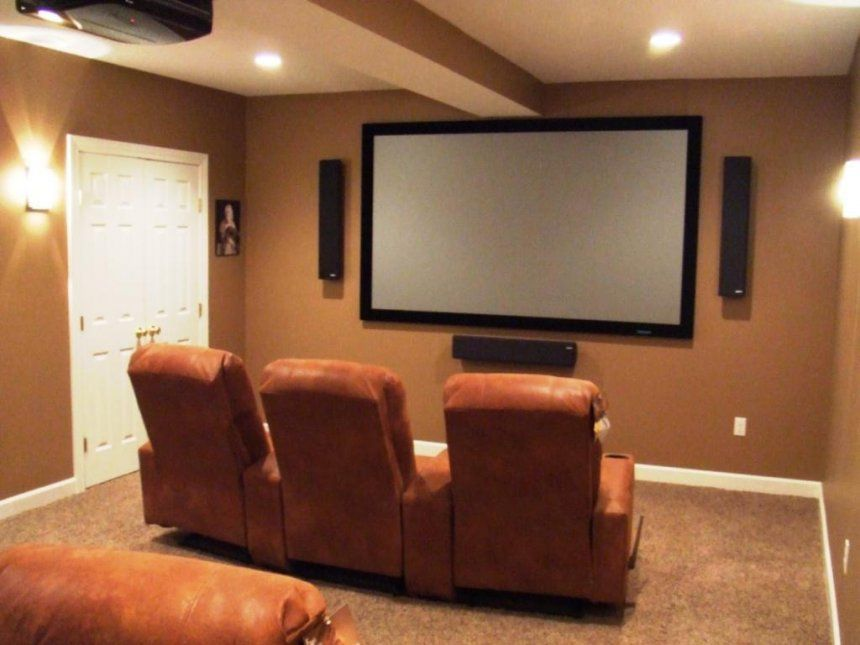 Small Home Theater Room Ideas Setup Diagram Movie On Budget