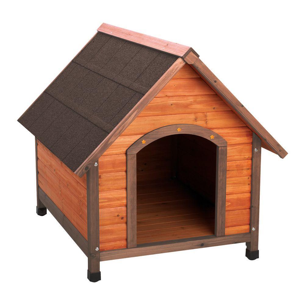 Premium Large A Frame Doghouse Brown Wood Dog House Dog