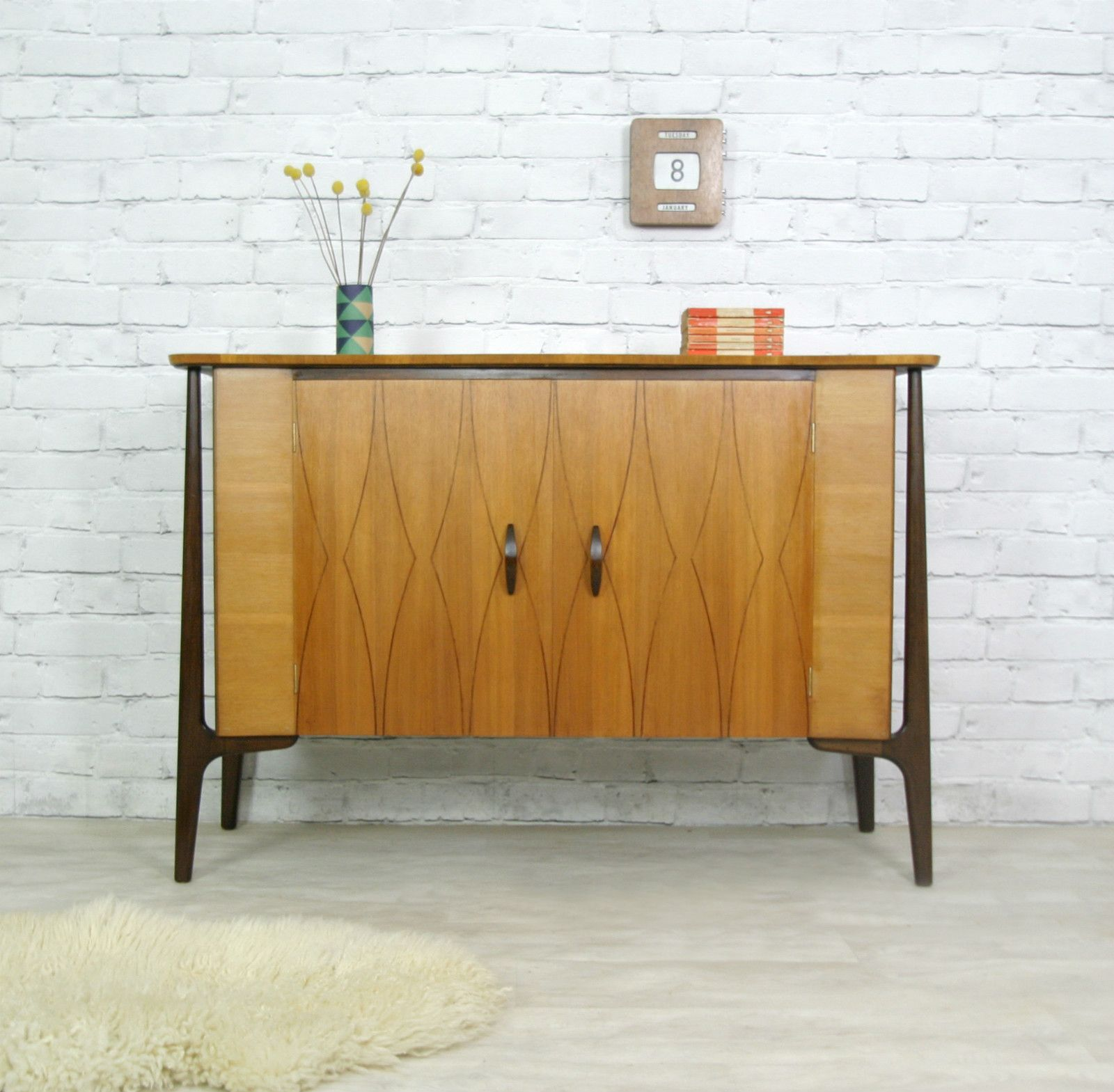 vintage teak sideboard design pinterest m bel. Black Bedroom Furniture Sets. Home Design Ideas