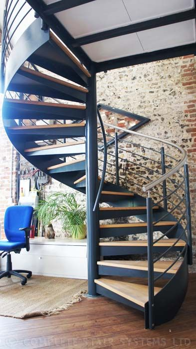 Best Commercial Spiral Staircase Wickham Hampshire 640 x 480