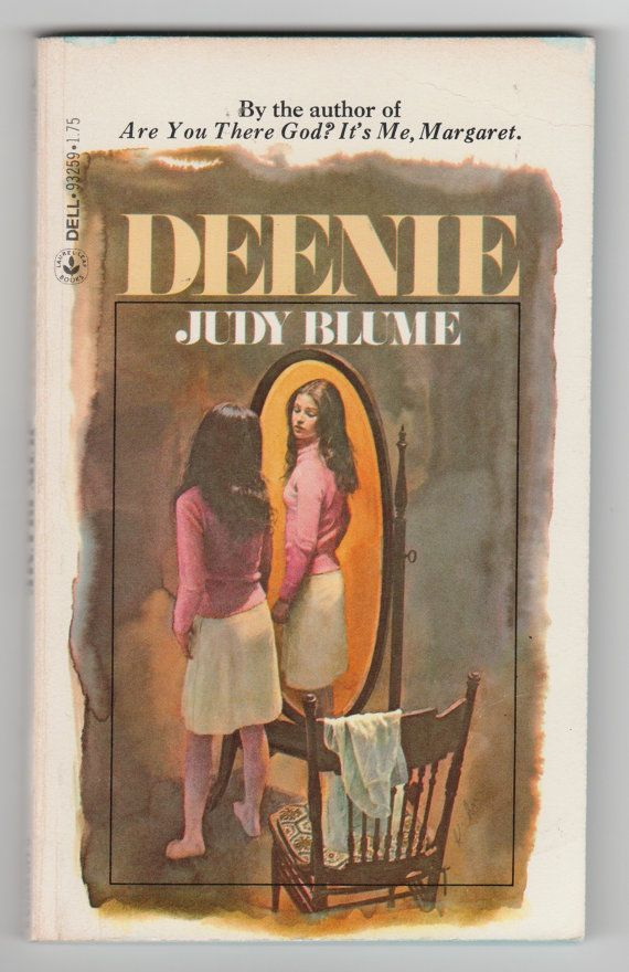 1980s Vintage Judy Blume Book Deenie Paperback Young Adult Teen