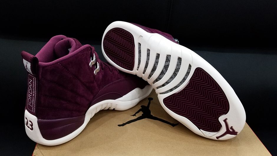 Air Jordan 12 Bordeaux GS 153265617 Kids Sizes | SneakerNews