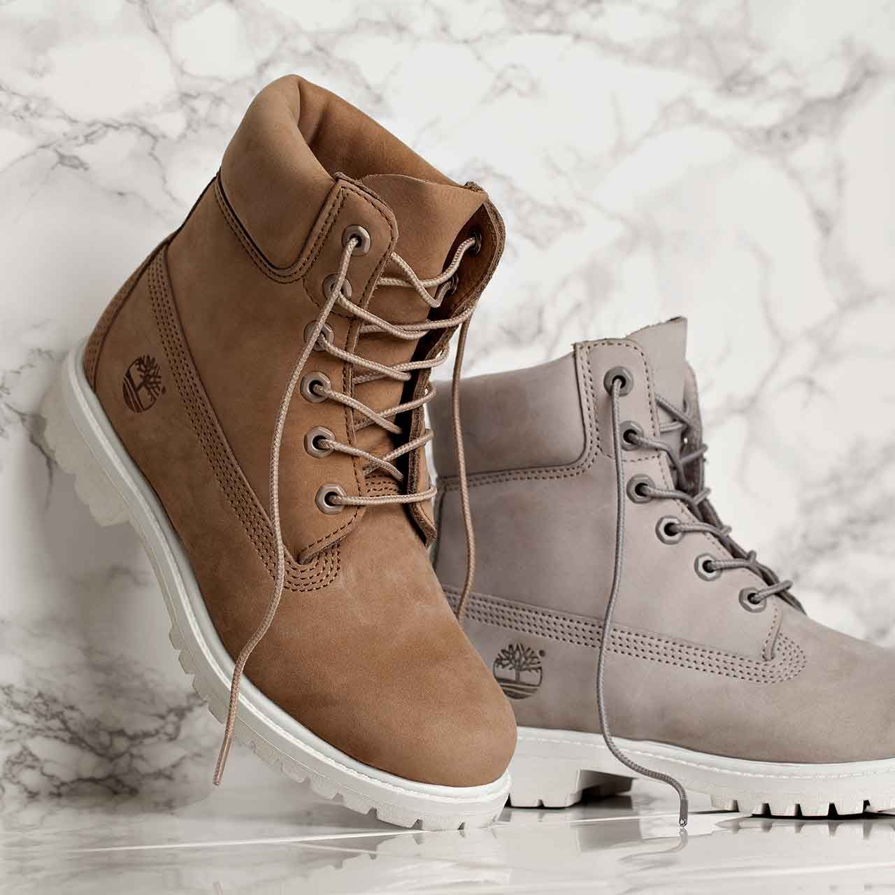 370c1ff60d0 Meet the Footasylum Exclusive Womens Timberland 6 Inch Premium Boot in Bone  & Light Grey! Available now online & in store.