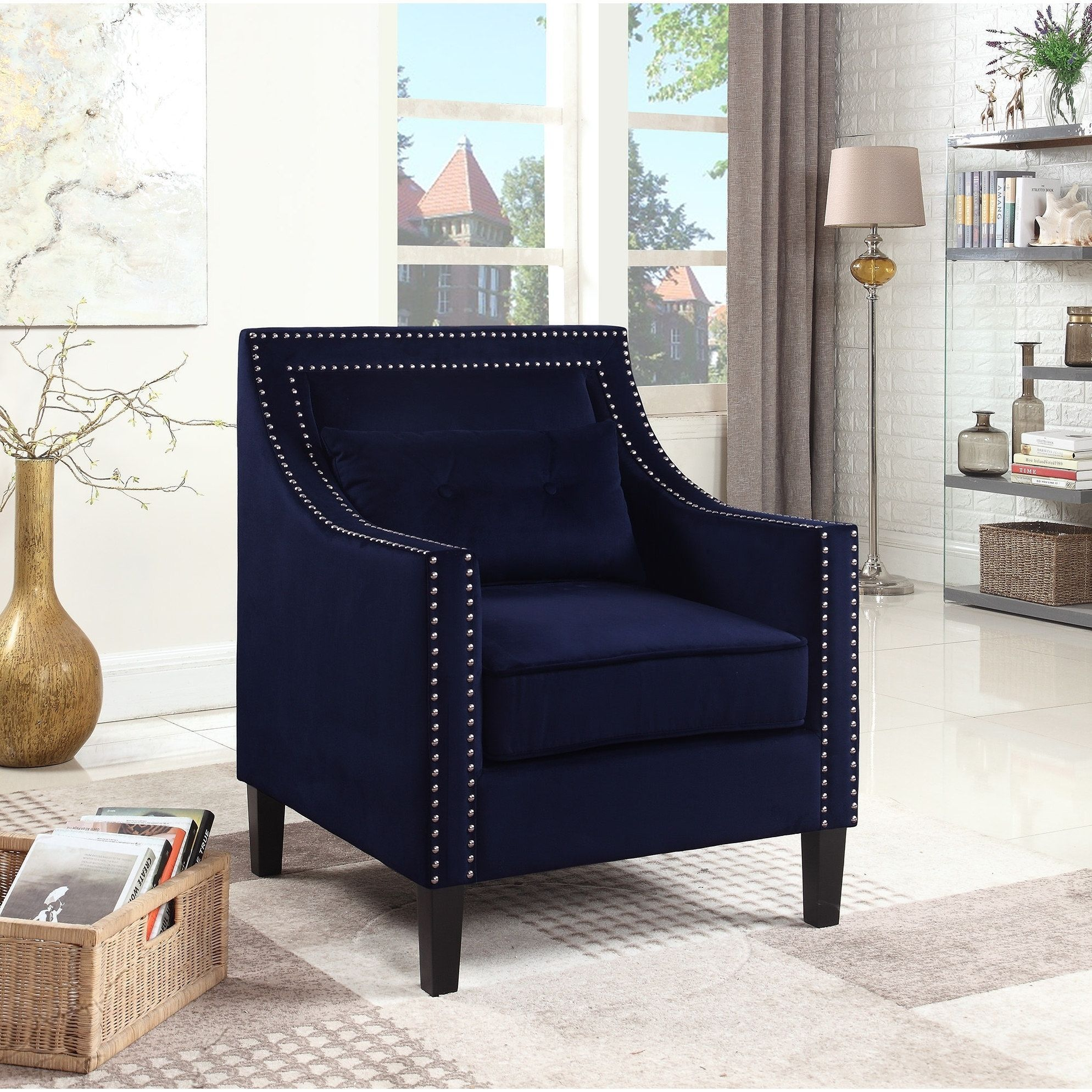 Best Master Furniture Upholstered Accent Arm Chair Products