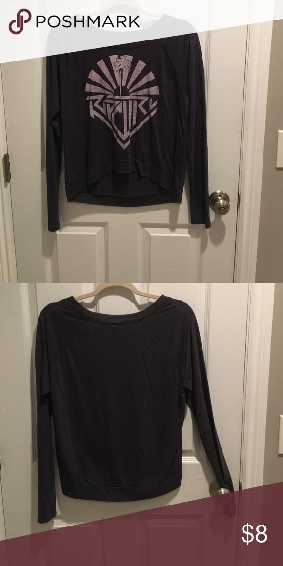 Long sleeved shirt grey/blue shirt Rip Curl Tops Tees - Long Sleeve