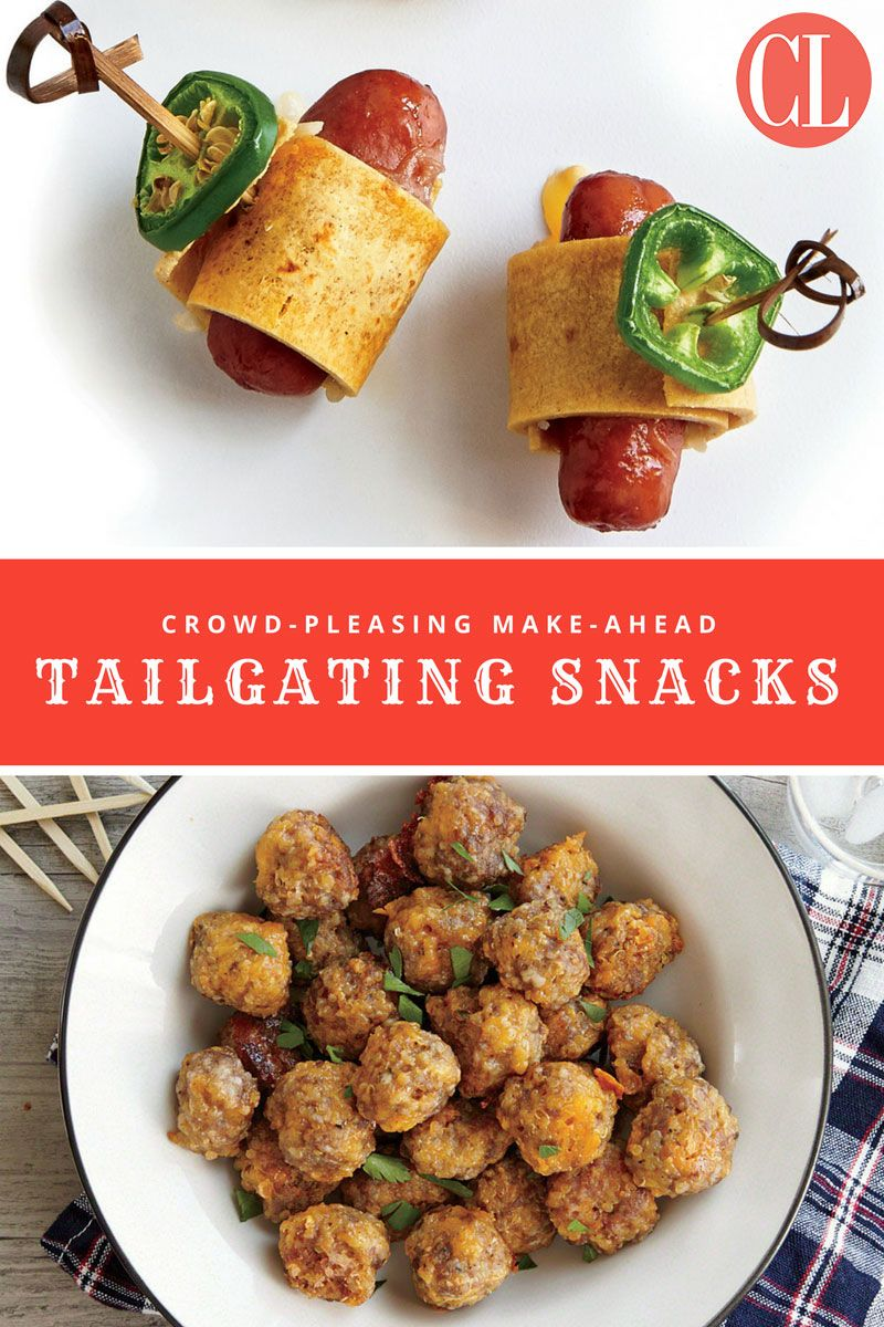 Make-Ahead Tailgating Recipes - Cooking Light