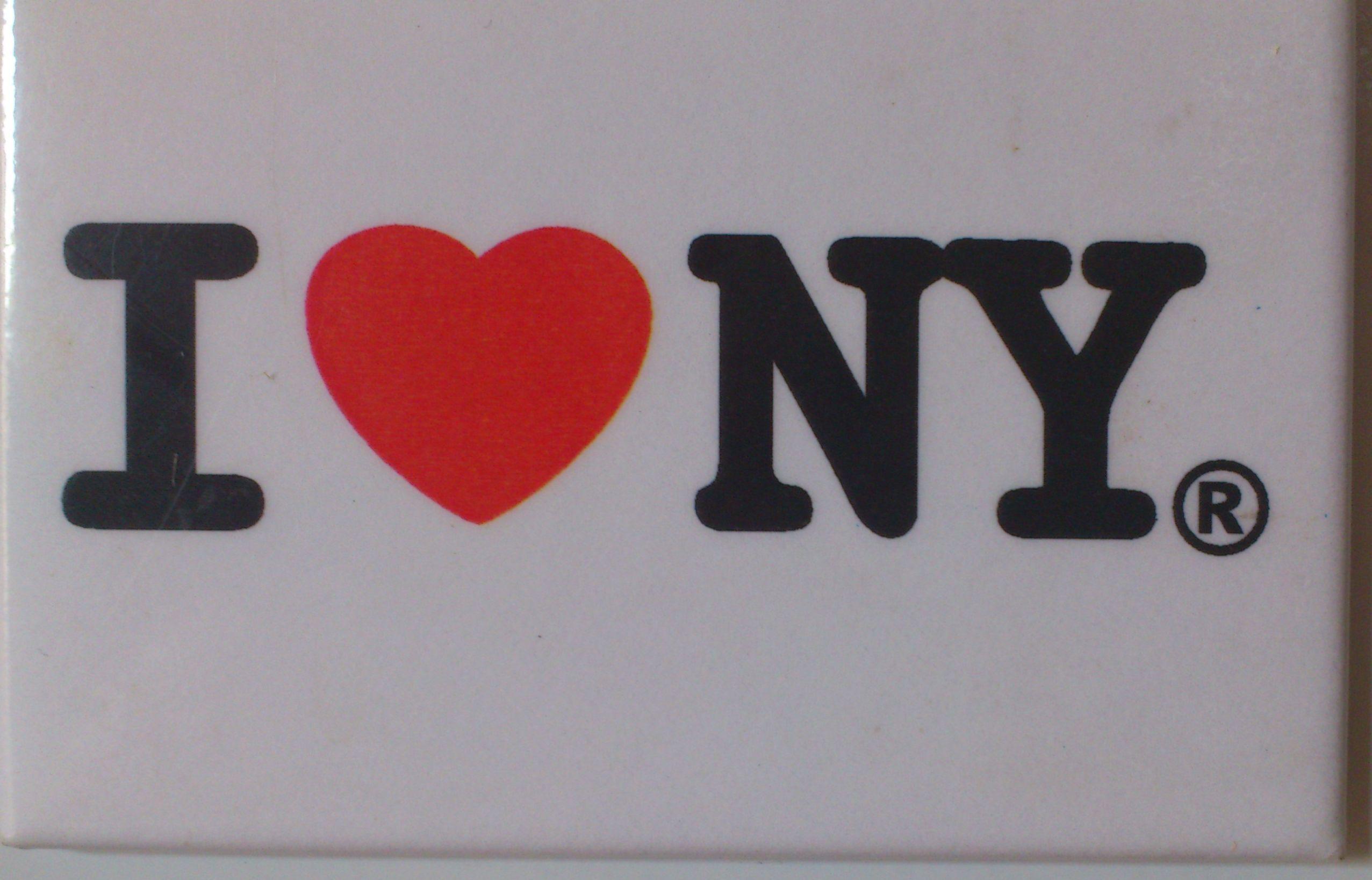 USA - Le classique et indémodable I Love New York, ramené par nous en août 2001