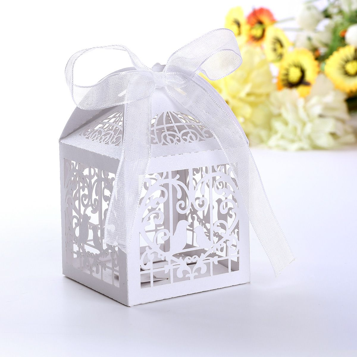 100pcs Wedding Party Cake Candy Favour Favors Gift Boxes Great Deal ...