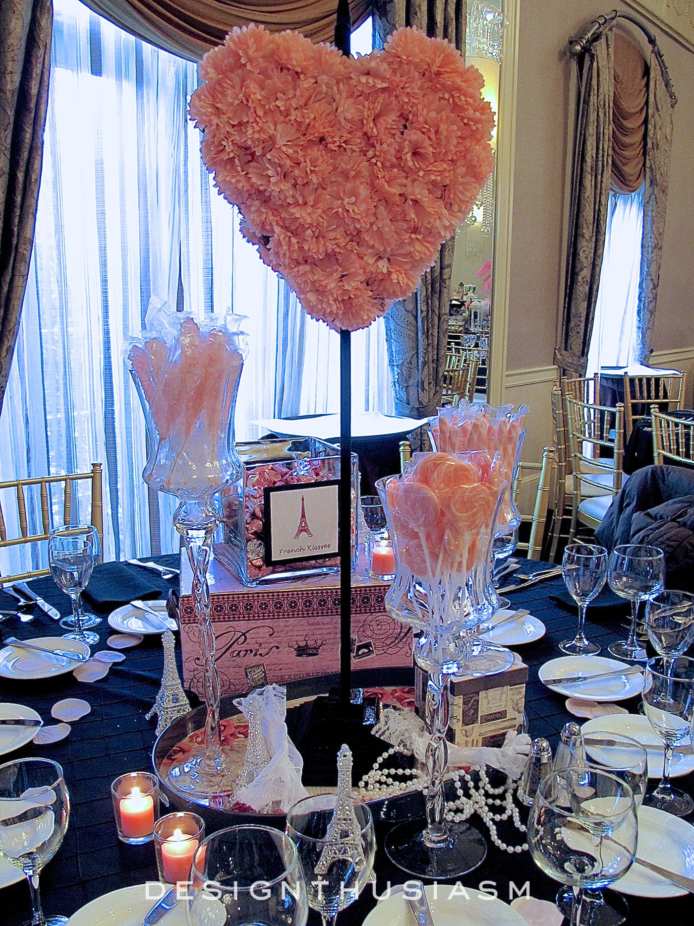 #1-April in Paris Centerpieces for a Spring Party Love the floral tray with - 1-April In Paris Centerpieces For A Spring Party Love The Floral