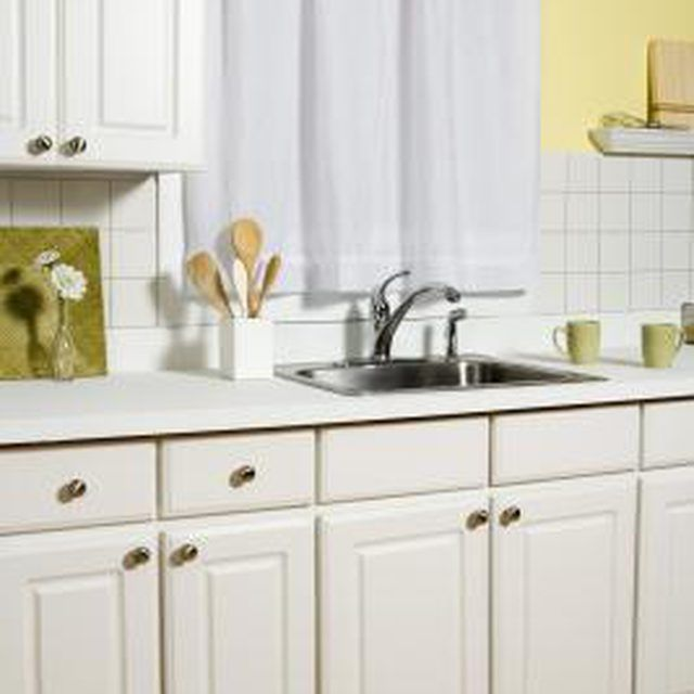 Can You Pull Laminate Off Cabinets & Paint the Pressed ...