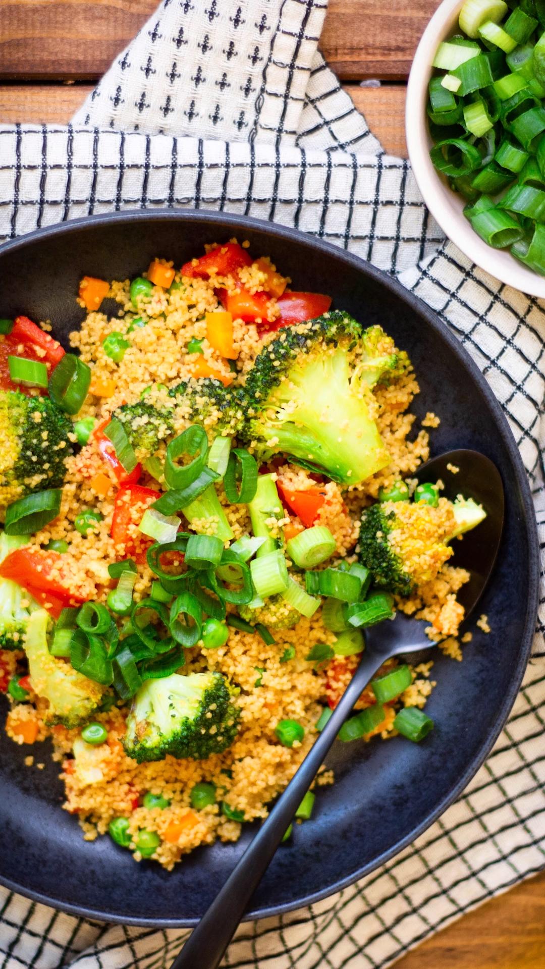 Couscous-Pfanne mit Gemüse