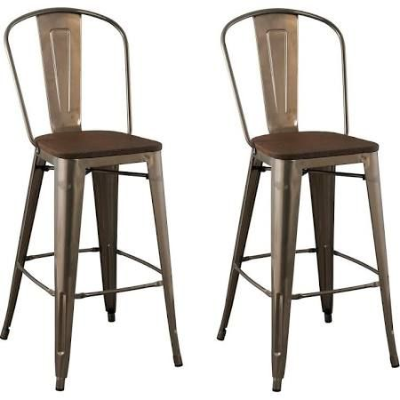 Metal And Wood Rustic Barstools For Sale Google Search With Images 24 Counter Stools Metal Bar Stools Metal Counter Stools