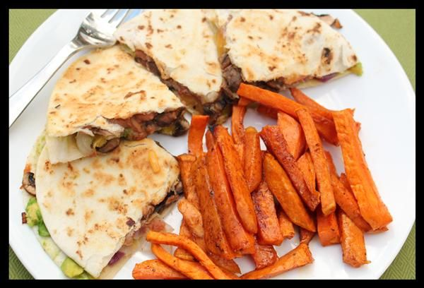 Bean avocado quesadillas you could alter the recipe to include food forumfinder Gallery