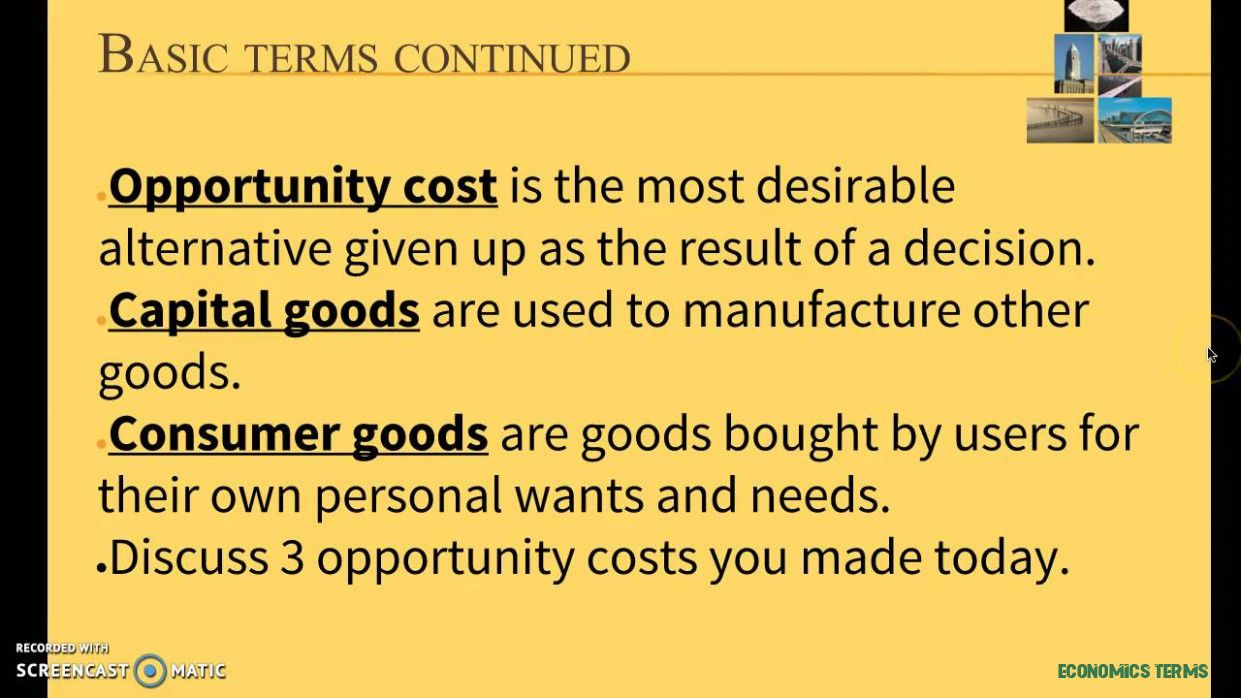 Five Features Of Economics Terms That Make Everyone Love