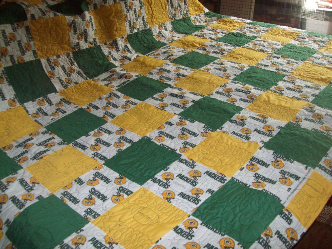 Green Bay Packers Quilt Quilts Green Bay Packers Clothing Sports Quilts