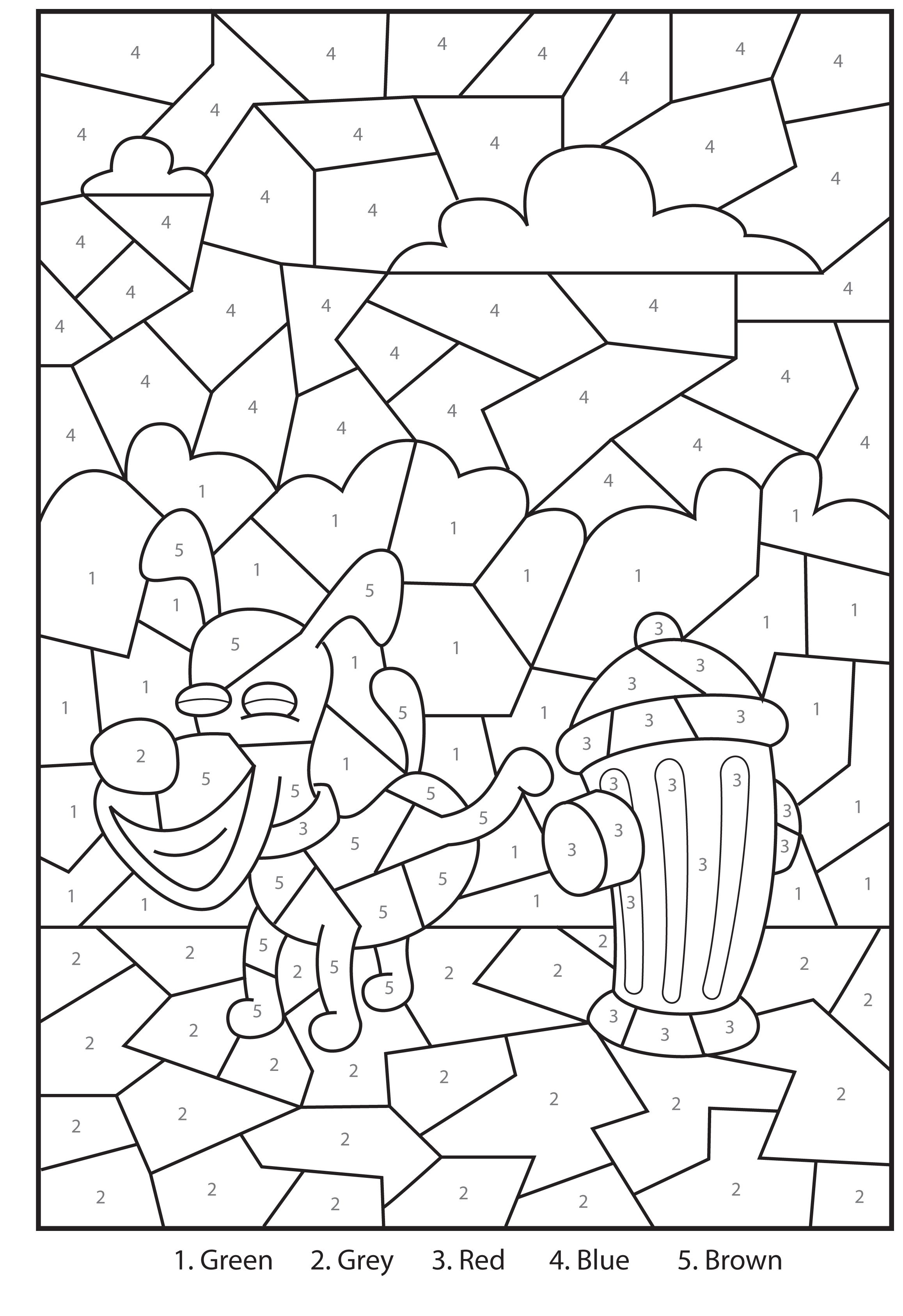 integer coloring activity pages - photo#36