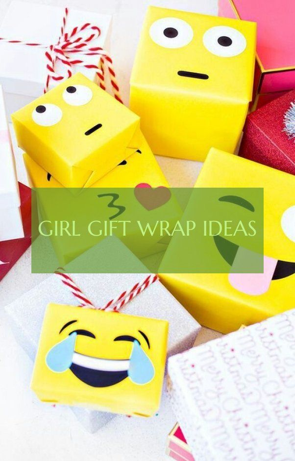 girl gift wrap ideas