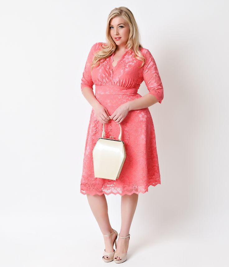1950s Plus Size Dresses, Clothing | ♥ VintageandCurvy.com ...