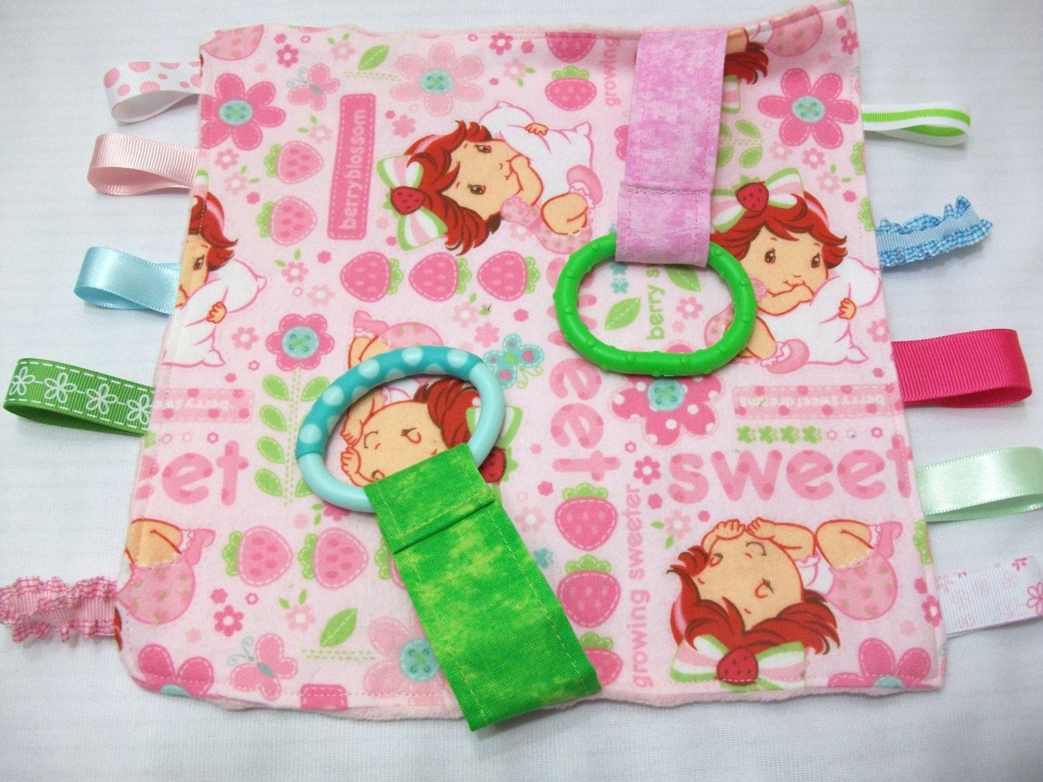 Teether Cloth With Taggies