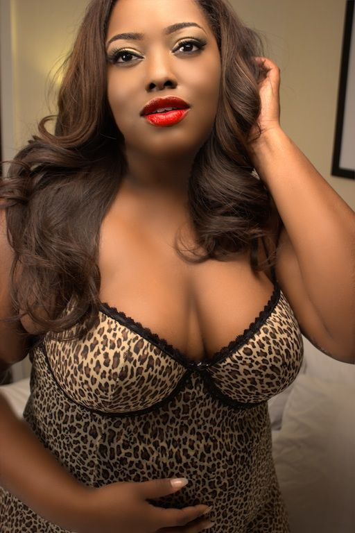 Ebony Bbw In Lingerie