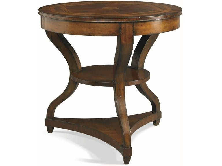 Cth Sherrill Occasional Round Lamp Table 960 637 Haw