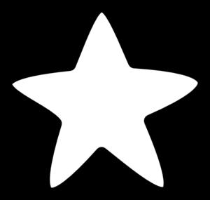 Black And White Star Clip Art Star Clipart Black And White Stars Clipart Black And White