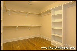 new home master bedroom closet storage and builtin shelving ideas walk in closet storage ideas and master bedrooms - Closet Shelving