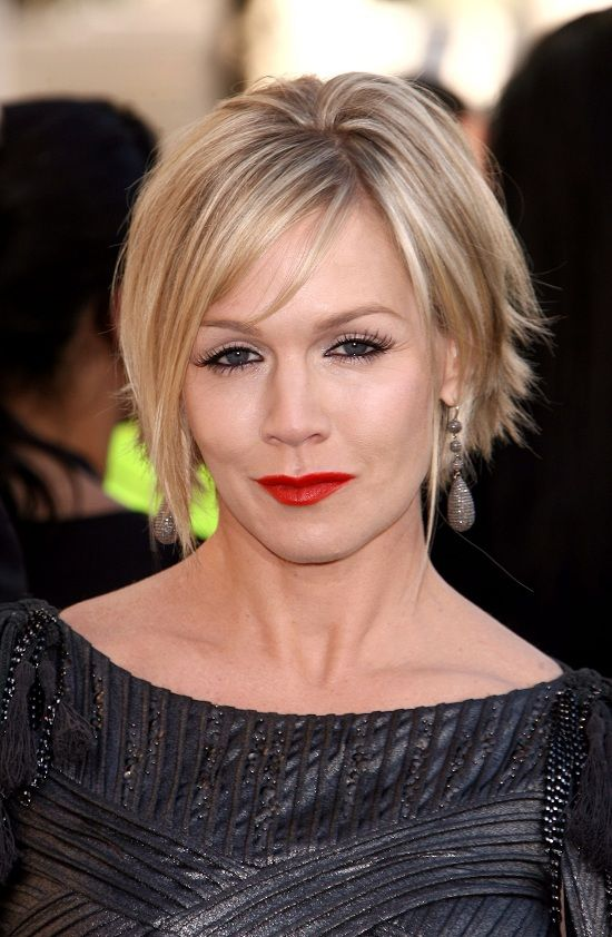 Jennie Garth Hairstyles Jennie Garth In A Silver Dress