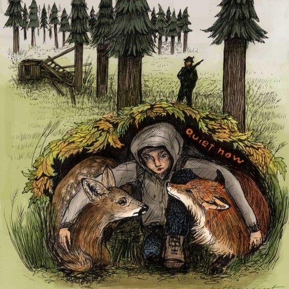 Quiet Now - Katharina Rot, vegan artist and illustrator