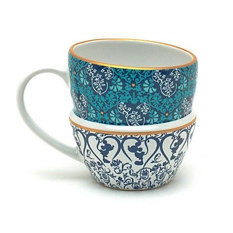 Mug Disney 8,5×8 effet tasses empilées