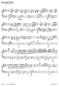 Miracles In December Exo Stave Preview 3 Exo Miracles Piano Sheet